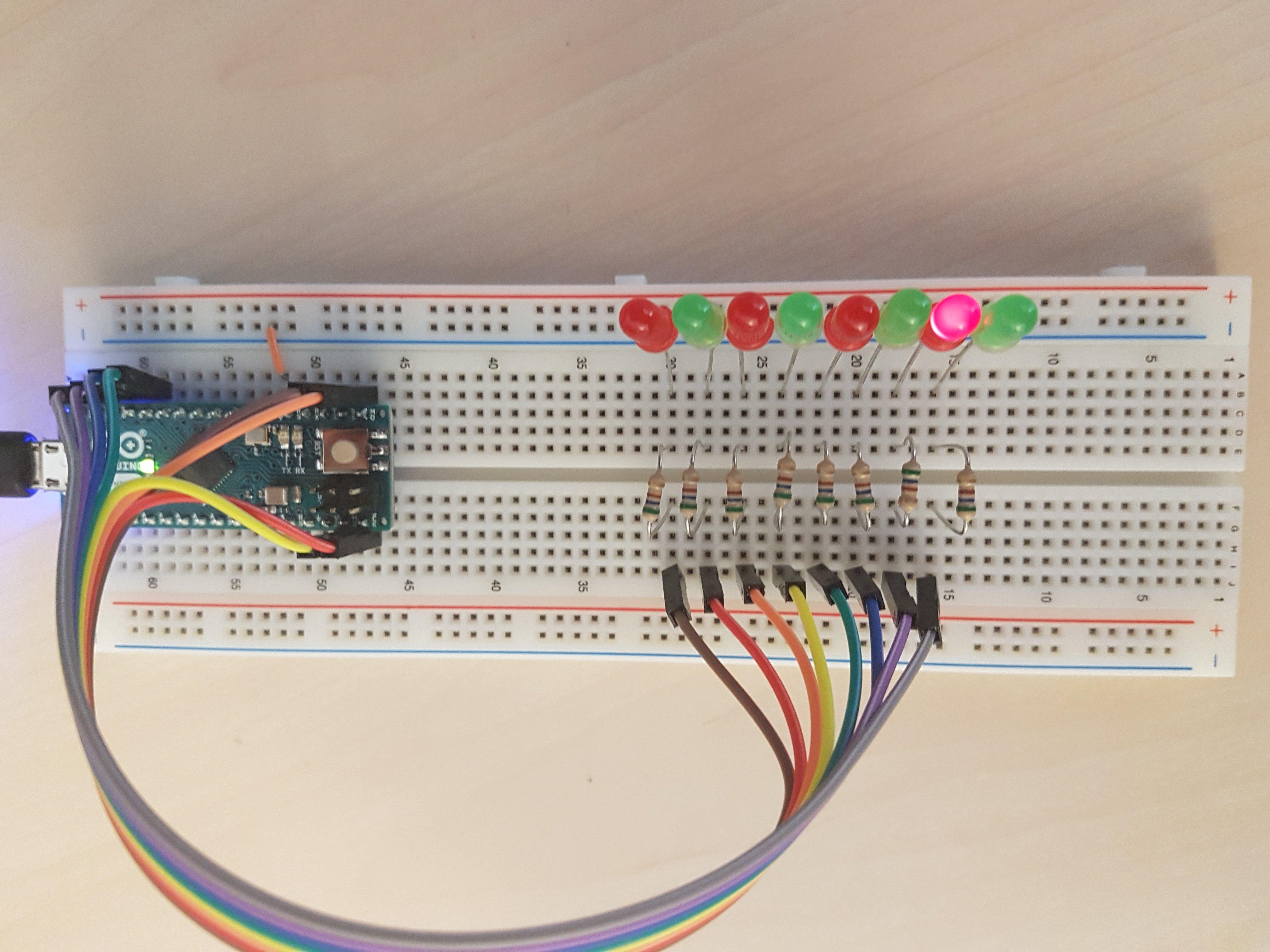 Arduino Micro & Noritake VFD   slions net