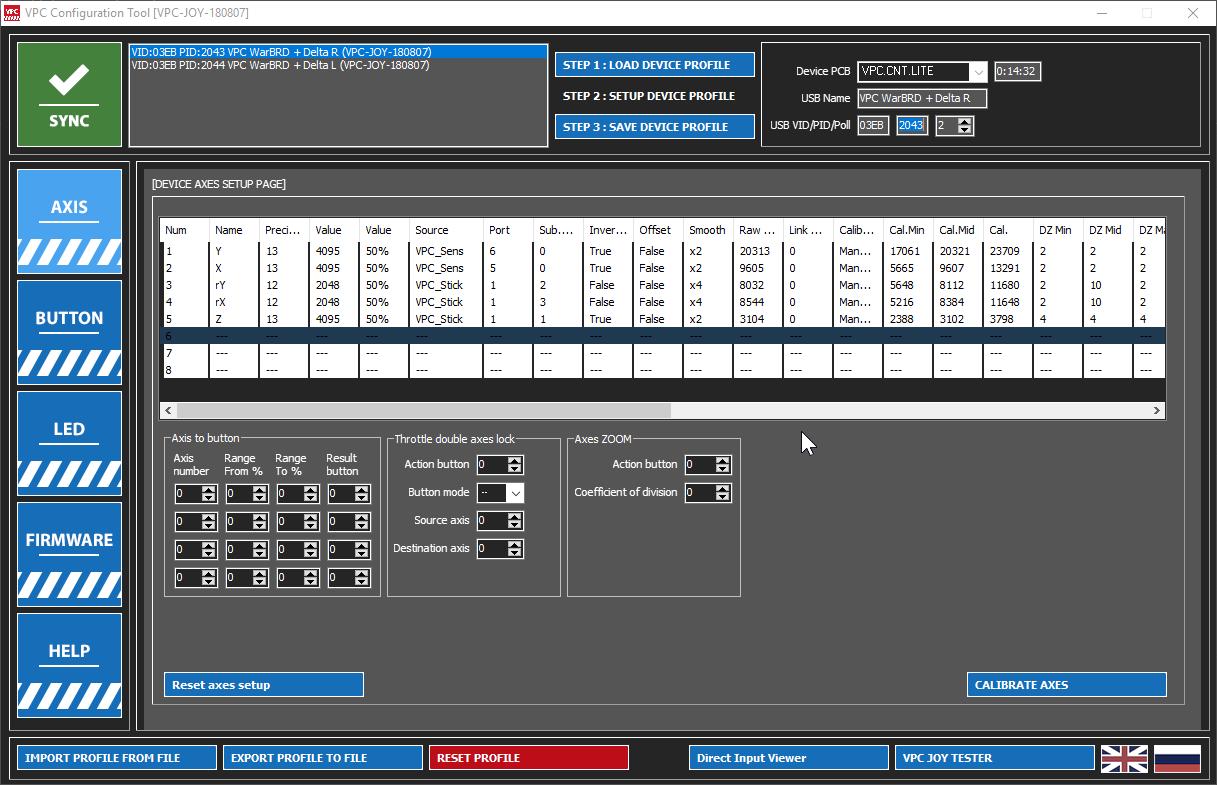 VIRPIL VPC WarBRD Constellation DELTA Flightstick review
